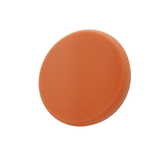 Liquid Elements Pad Man Standard - Polierschwamm orange (medium) 75mm
