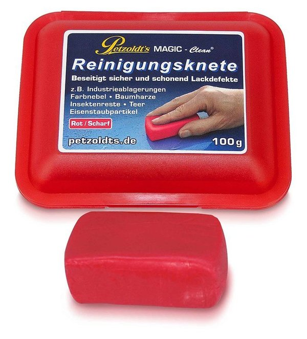 Magic Clean Reinigungsknete Scharf Rot 200g