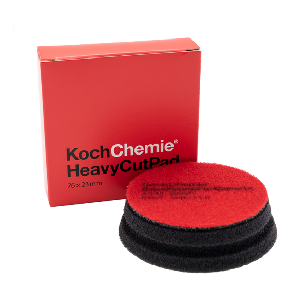 Koch Chemie Heavy Cut Pad 76 x 23mm Rot